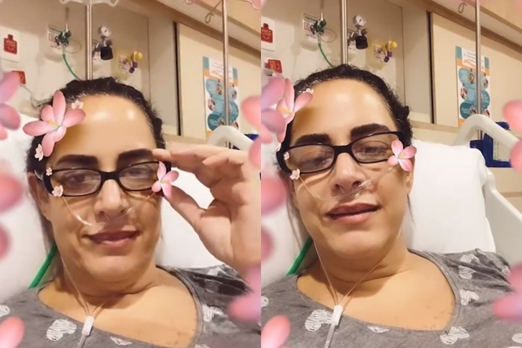 Silvia Abravanel está hospitalizada com covid-19  e sofre com  sintomas