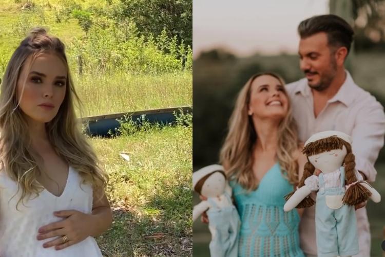 Thaeme Mariôto, grávida pela segunda vez, revela sexo e nome de seu segundo filho