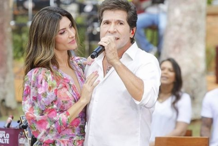 Aline de Padua e marido Daniel foto reprodução instagram
