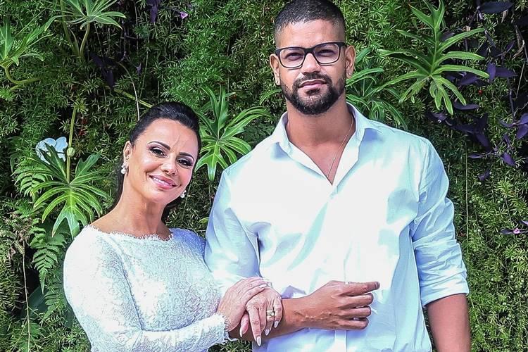 Veja fotos do casamento de Viviane Araújo e Guilherme Militão