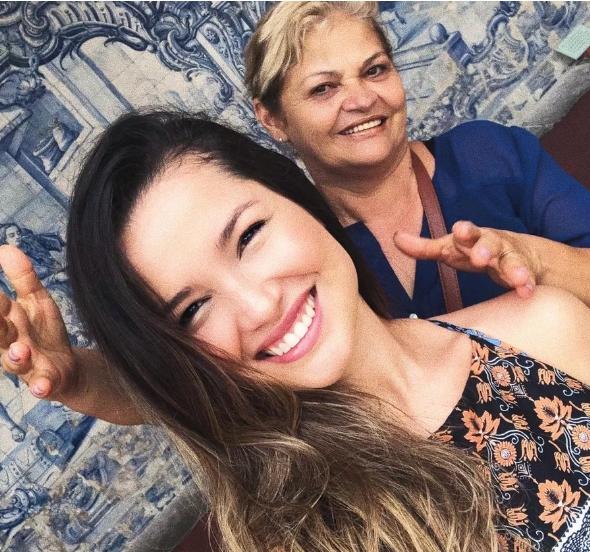 Juliette e mãe dona Fátima foto reprodução Instagram