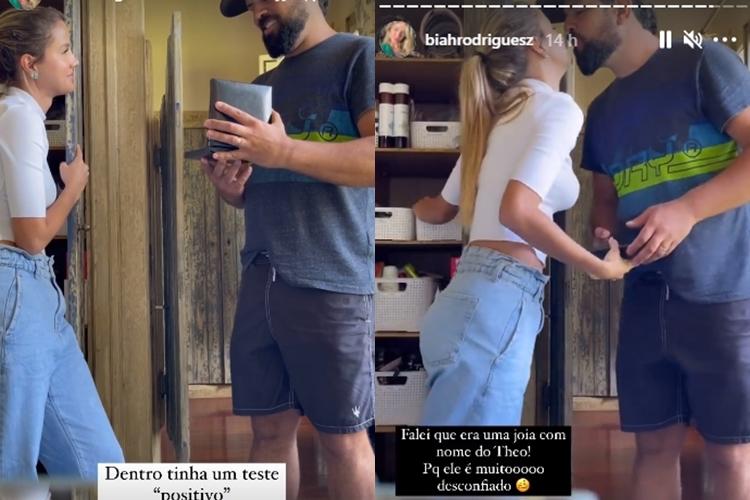 Biah Rodrigues e Sorocaba foto reprodução Instagram Stories
