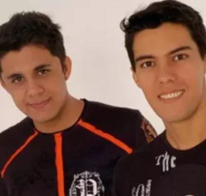 Cristiano Araujo e Luizmar de Oliveira Damasceno foto reprodução Instagram
