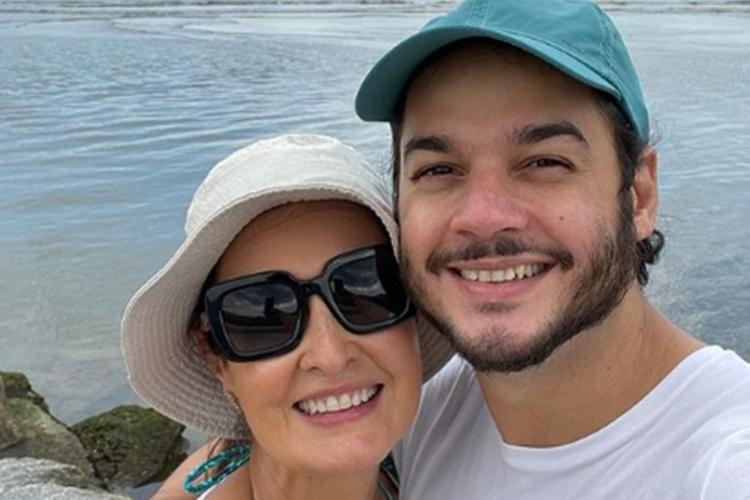 Fátima Bernardes e Túlio Gadêlha foto reprodução Instagram @fatimabernardes
