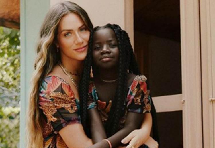 Giovanna Ewbank comemora aniversário de Titi com festinha em Portugal