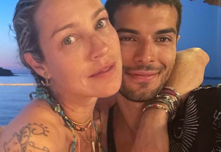 Luana Piovani curte passeio ao lado do namorado e ganha elogios na web