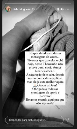 Publicação Biah Rodrigues (Reprodução/Instagram)