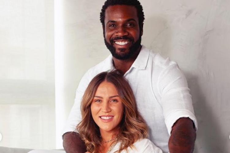 Rafael Zulu e Aline Becker foto reprodução Instagram