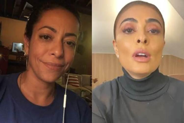 Samantha Schmütz revela que conversou com Juliana Paes após confusão nas redes sociais