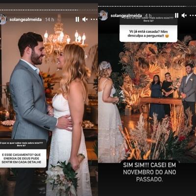 Solange Almeida foto reprodução Instagram