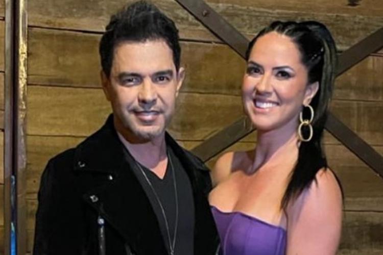 Zezé Di Camargo e Graciele Lacerda foto reprodução Instagram
