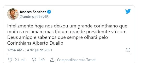 Andre Sanchez Twitter