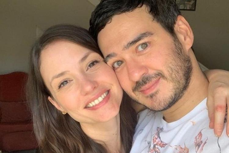 Ator Marcos Veras e atriz Rosanne Mulholland foto reprodução