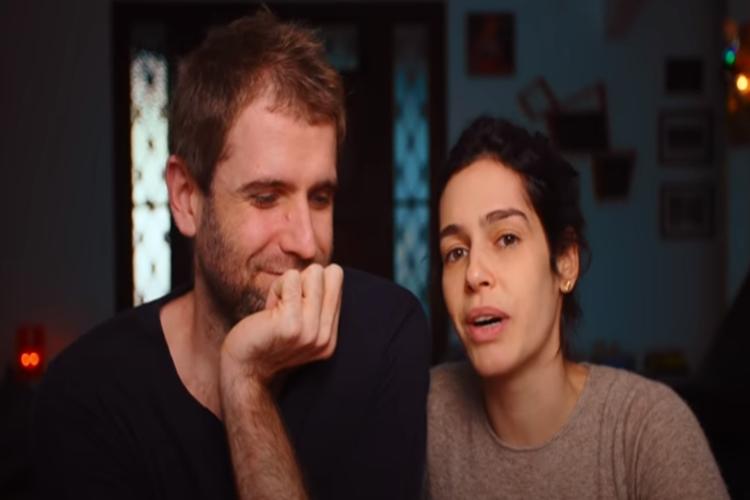 Emanuel Aragão e Maria Flor foto reprodução youtube