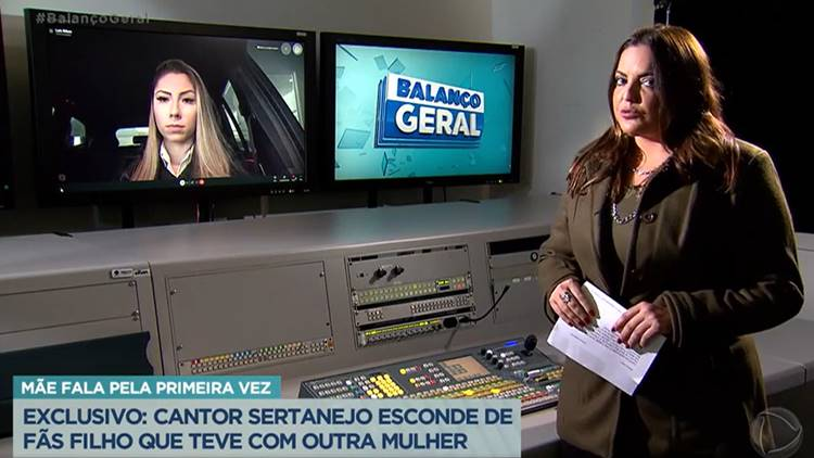Fabíola Reipert entrevista Laís Ribas (Reprodução/Record TV)
