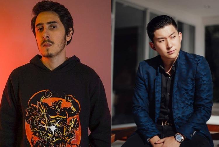 Felipe Castanhari e Pyong Lee (Foto: Reprodução/ Instagram Felipe Castanhari e Pyong Lee)