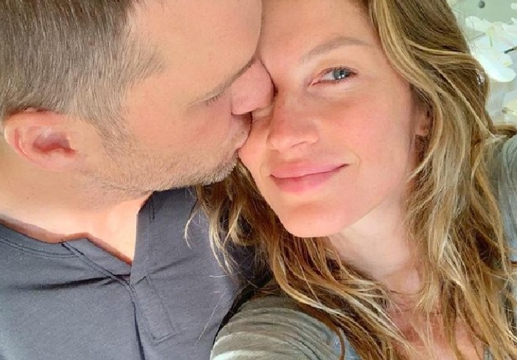 Gisele e Tom (Foto: Reprodução/ Instagram Tom Brady)