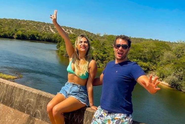 Jessica Costa e Pedro Leonardo foto reprodução Instagram
