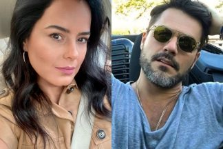 Luciele Di Camargo e Danilo Faro foto reprodução Instagram montagem Area Vip