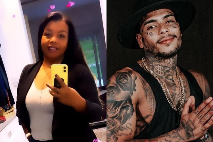 Mãe de MC Kevin Valquiria Nascimento e cantor Mc Kevin foto reprodução Instagram montagem Area Vip