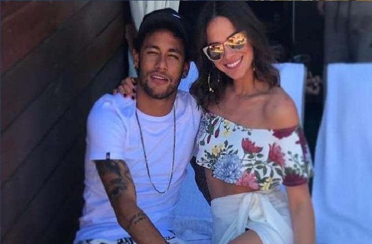 Neymar e Bruna Marquezine (Foto: Reprodução/Instagram Bruna e Neymar)