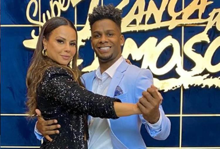 Ex-dupla de Viviane Araújo na 'Super Dança dos Famosos' faz novo desabafo