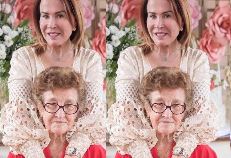"""Zilu Godoi presta homenagem para mãe no dia do seu aniversário: """"grande mulher"""""""