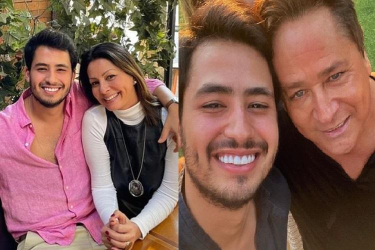 Matheus Vargas, filho do sertanejo Leonardo, recebe declaração da mãe e vira assunto