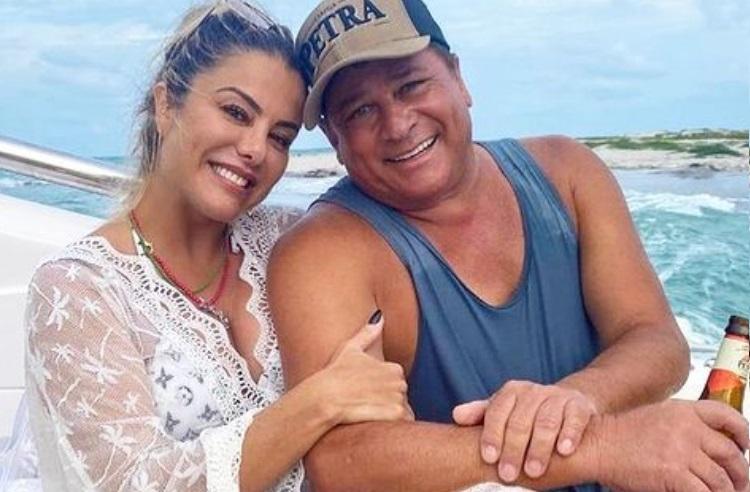Poliana Rocha compartilha intimidade na cama com marido, o sertanejo Leonardo