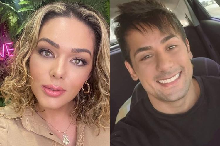 Tania Mara confirma que continua namoro com sertanejo confinado na Fazenda 13