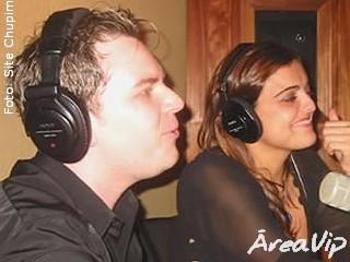 Fabinho Almeida e Fabíola Reipert falam sobre os bastidores no Chupim da Metropolitana FM