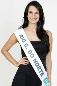 Show Business recebe Miss Brasil Larissa Costa