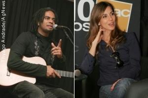 Tania Khalill e Jair Oliveira autografam o livro e CD 'Grandes Pequeninos'