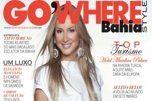 Claudia Leitte é capa da Go Where Bahia