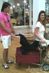 Iris Stefanelli curte férias com o namorado, Jerônimo Teixeira nos Estados Unidos